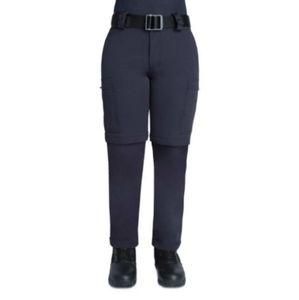 Womans zip-off bike pants